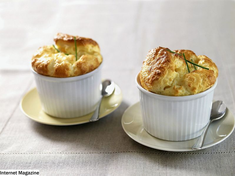 Classic Cheese and Pecek Souffle -resepti