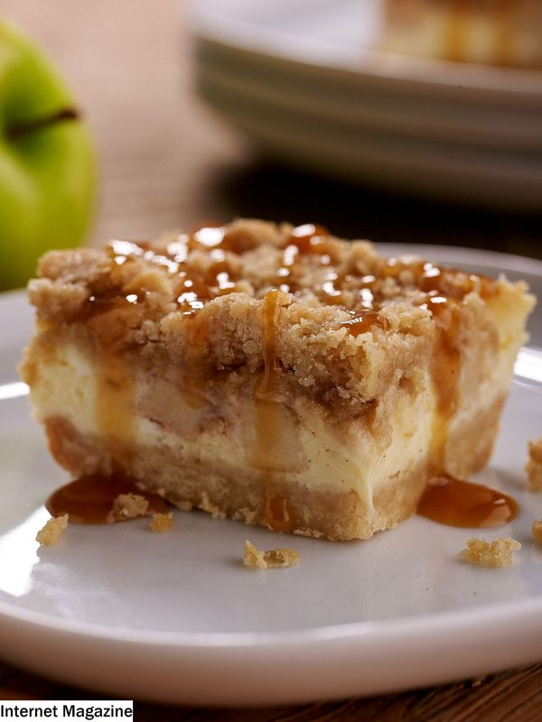 Karamell Apple Cheesecake Riegel