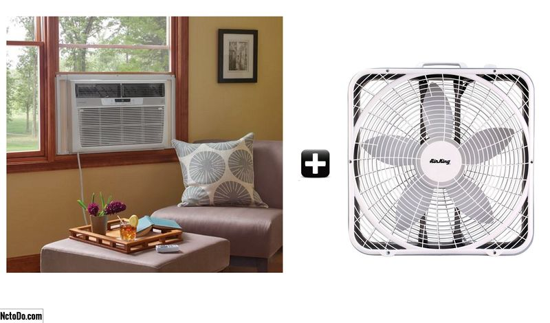 Cải thiện Home Cooling Với Window Air Conditioning Tricks