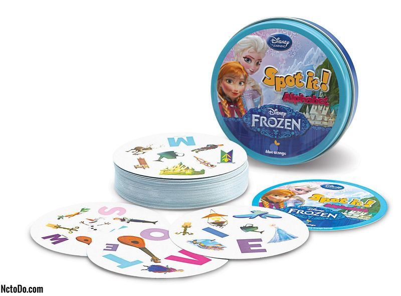 Disney Frozen Pistä se! Travel Game