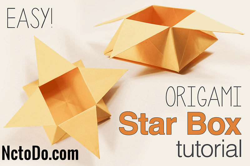 Origami Star Box Tutorial