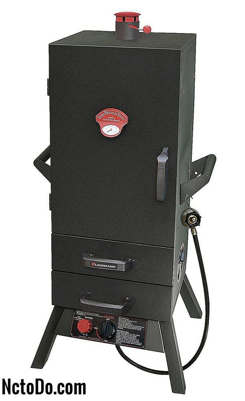 Landmann Smoky Mountain Vertical Gas Smoker Modell # 3495GLA