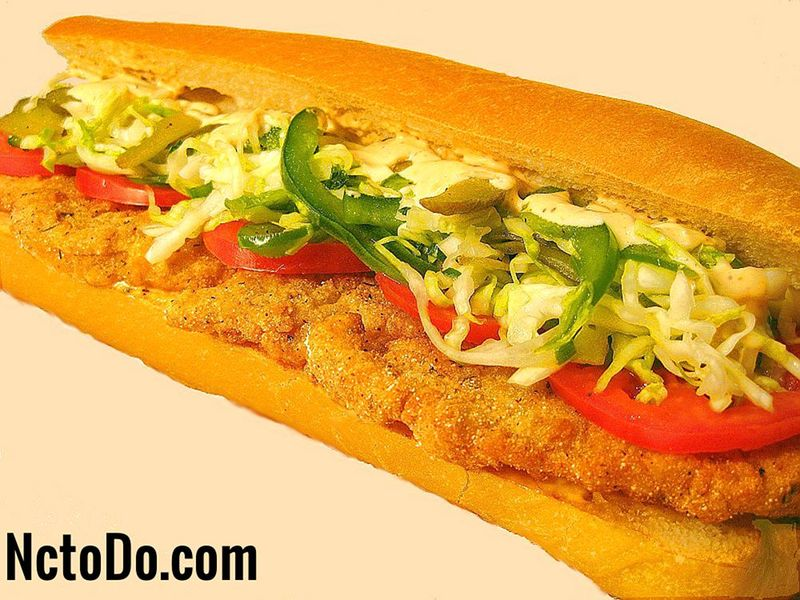 Cajun Perch Po Boys Rezept
