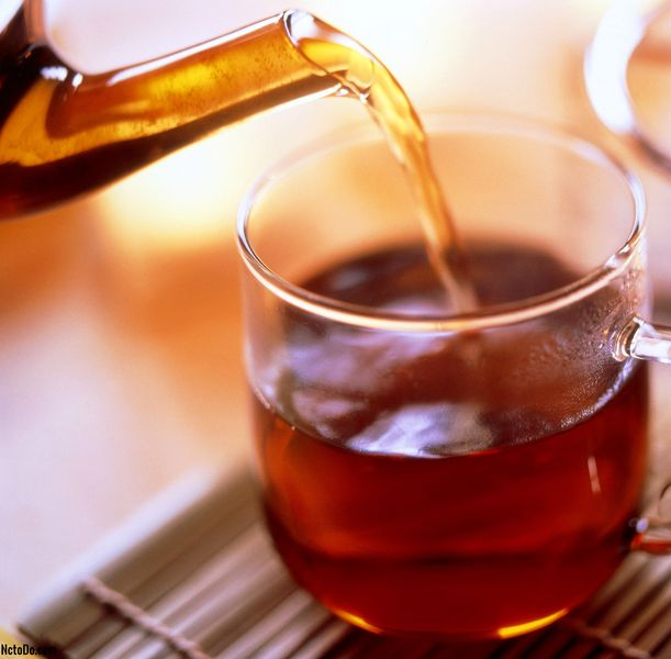 Musta Tea Hot Toddy Resepti Rum, Whisky tai Brandy