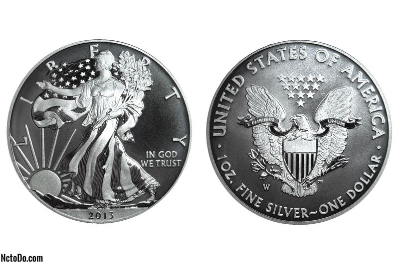 2013-W American Silver Eagle Enhanced Uncirculated